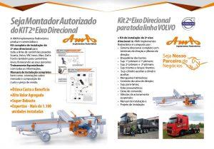 MANUAL DE INSTALAÇÃO DO SEGUNDO EIXO DIRECIONAL